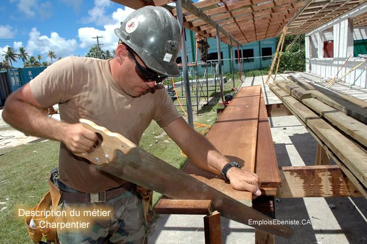 Description du métier de charpentier