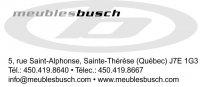 Emplois chez Meubles Busch Inc